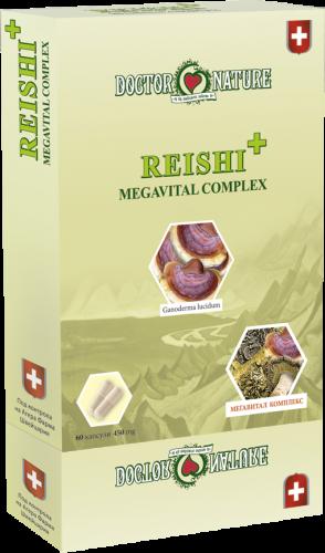 """ВИТАЛНИ ГЪБИ """"Reishi"""" + Megavital Complex"""