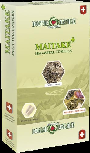 "ВИТАЛНИ ГЪБИ ""Maitake"" + Megavital Complex"