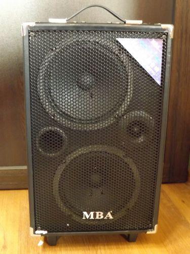"""Караоке тонколона с 2 високоговорителя, радио, безжичен микрофон, блутут, вграден акумулатор и MP3 - от SD карта или флашка - """"MBA S-28 B"""" -"""