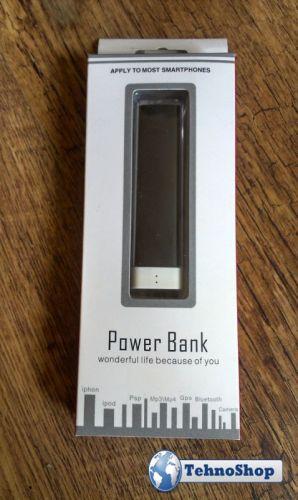 УНИВЕРСАЛНО ЗАРЯДНО POWER BANK ЗА СПЕШНО ЗАРЕЖДАНЕ - 1200mAh