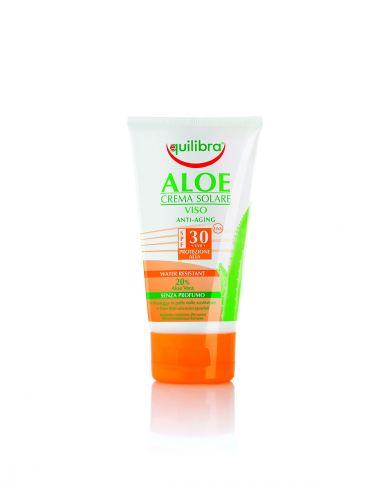 Слънцезащитен крем за лице Алое