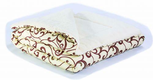 Одеяло от мериносова вълна и памук