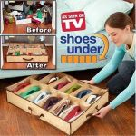 Практичен органайзер за обувки Shoes Under