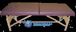 Двусекторна масажна кушетка - нискобюджетен модел