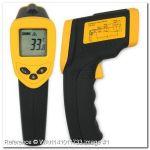 Безконтактен термометър - технически