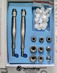 Апарат за диамантено микродермабразио с 9 приставки